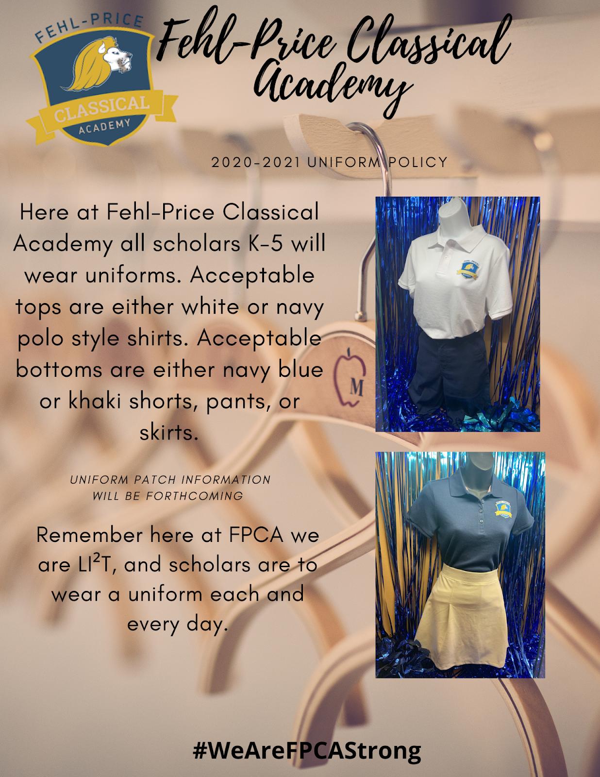 Fehl Price Uniforms