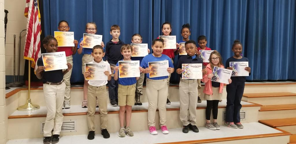 3rd Term Awards - 2nd Grade