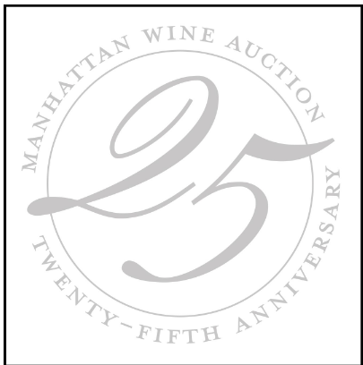 25TH ANNUAL MANHATTAN WINE AUCTION