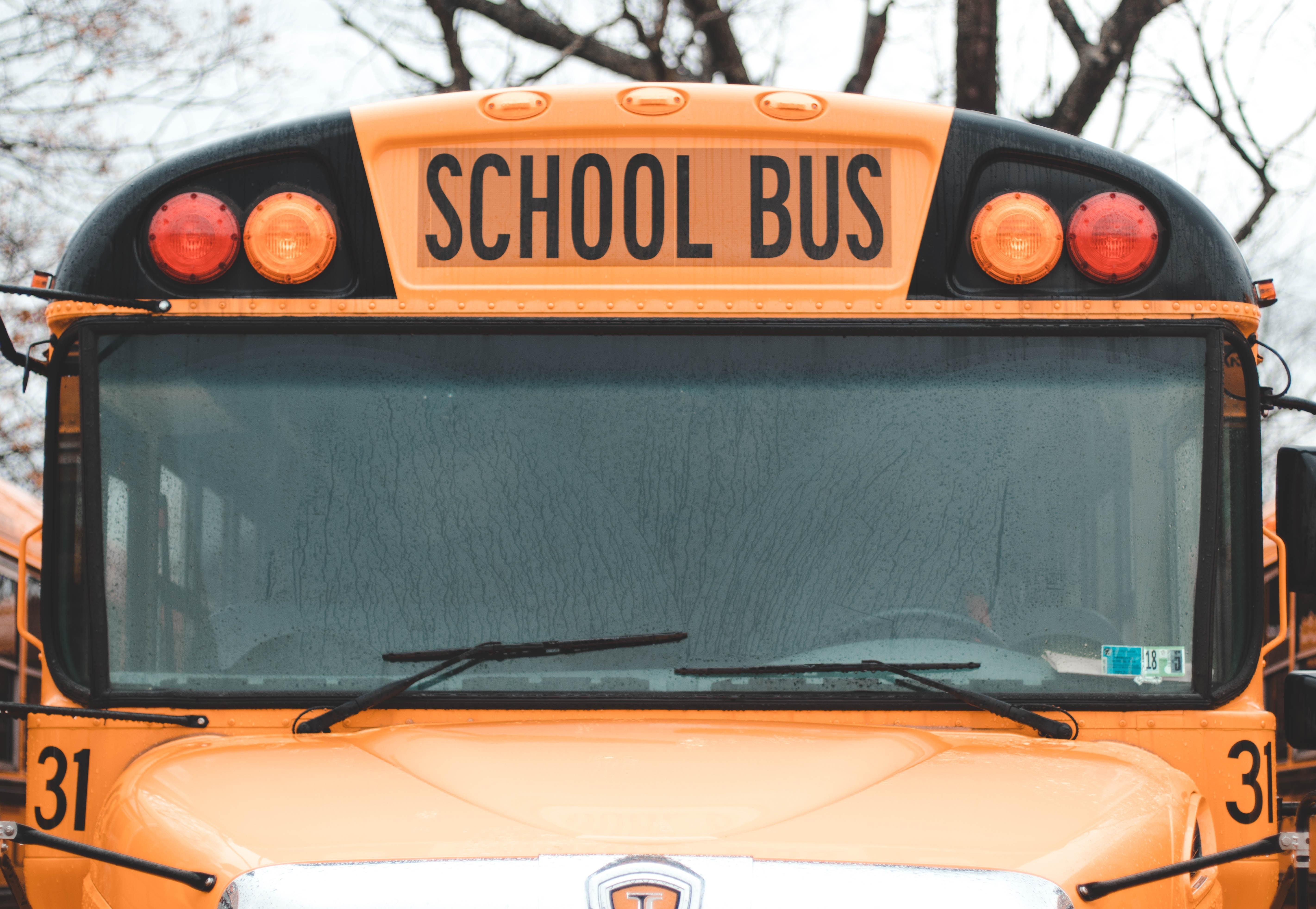 Picture of school bus.