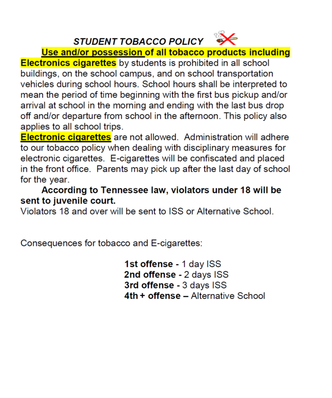 Tobacco Policy