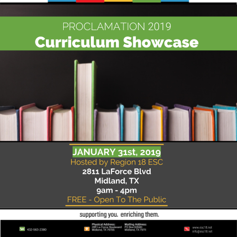 Proc 2019 Curriculum Showcase