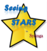 Star with text,