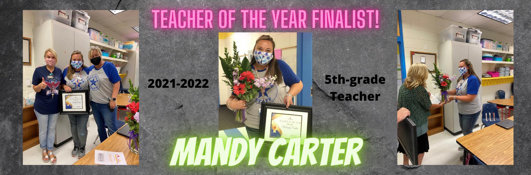 TOTY Mandy Carter
