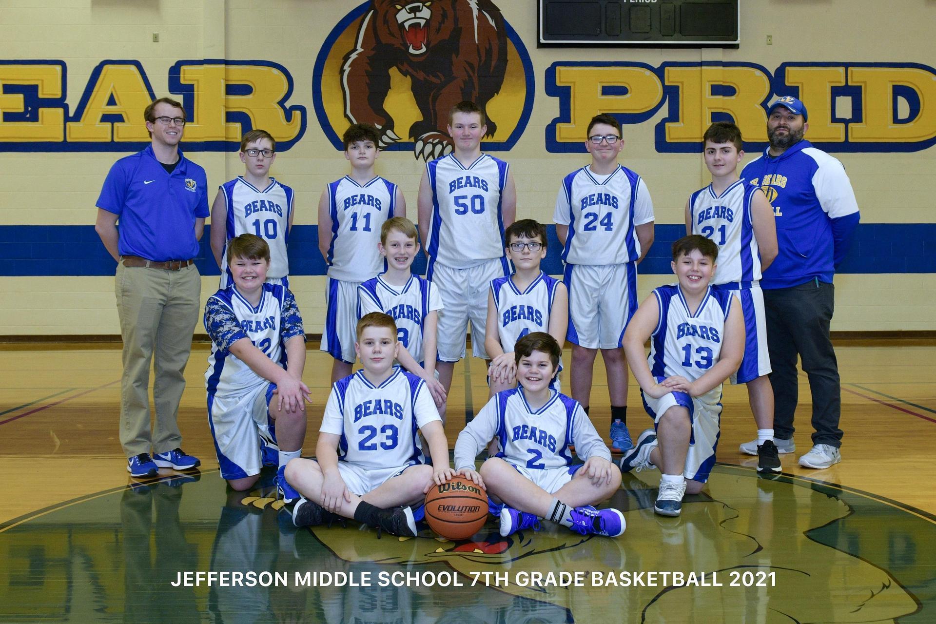 JMS Boys Basketball