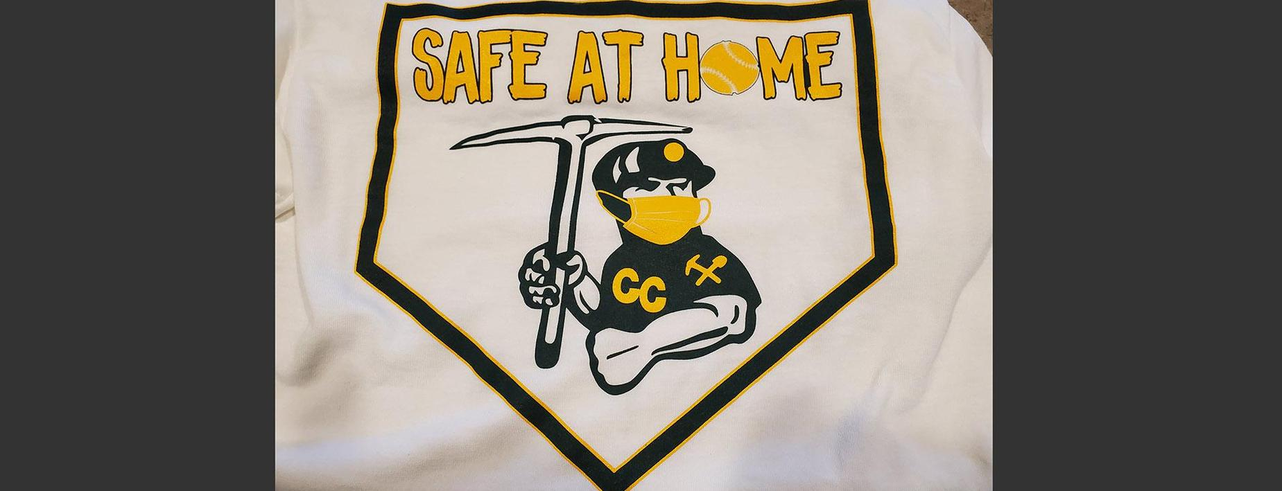 baseball shirt - safe at home