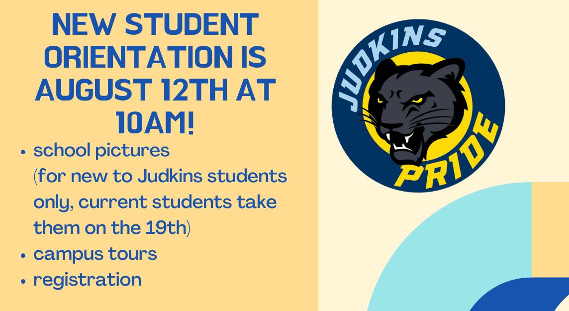 8-12-21 10am New Student Orientation