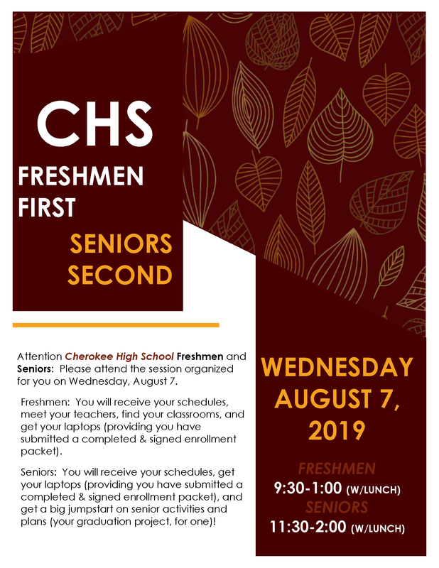 Freshmen First, Seniors Second (event flyer)