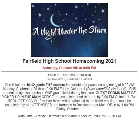 Homecoming Dance Tickets Now On Sale! Featured Photo