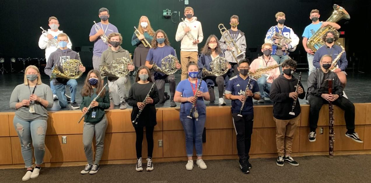 Brewer High School band members competed in the Region 30 Texas Music Educators Association (TMEA) All Region auditions, and a record number of students were selected to the All Region Band, more than doubling last year's selections.