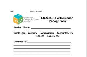 ICARE CARD