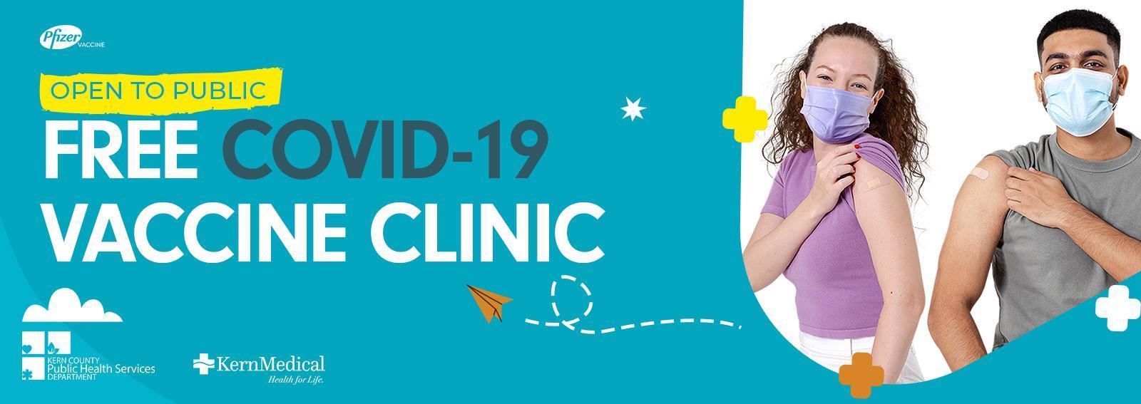 Free COVID-19 Vaccination Clinics