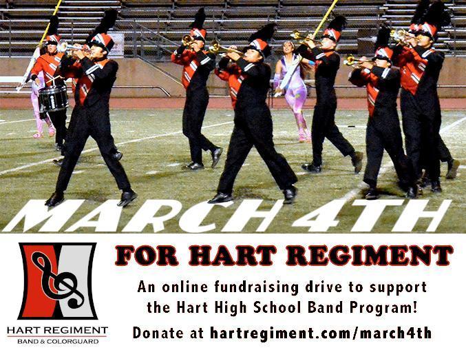 Donations for Hart Regiment