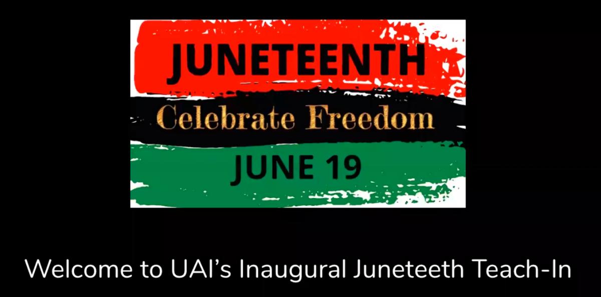 UAI Juneteenth Video link
