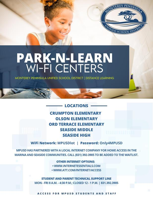 Park N' Learn Location