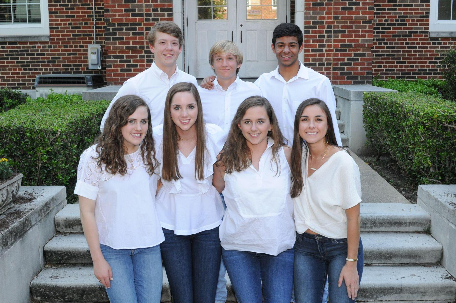 Student council executive officers