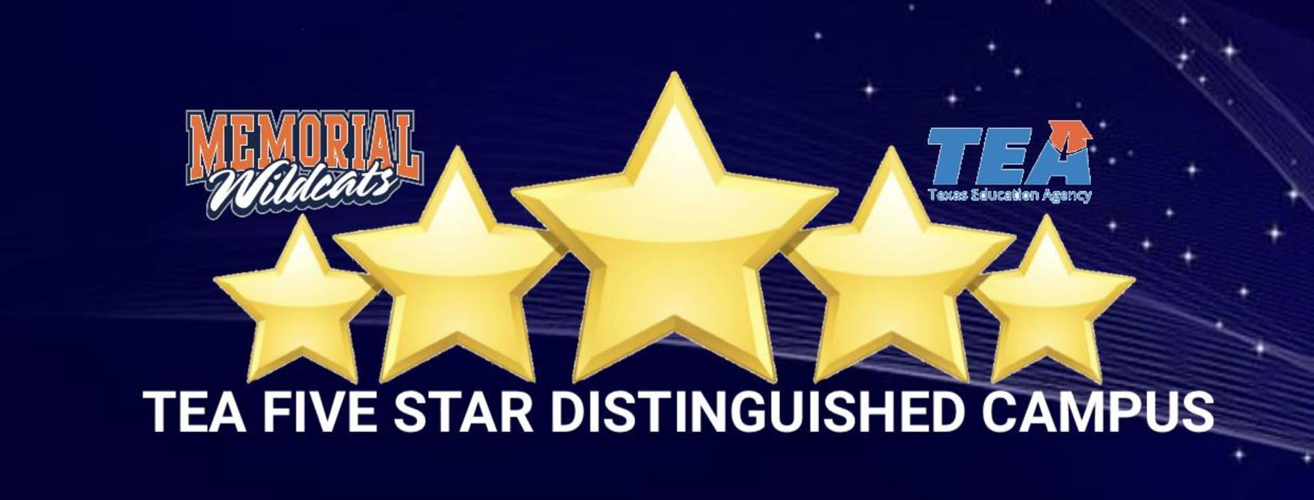 TEA 5 STAR DISTINGUISHED CAMPUS
