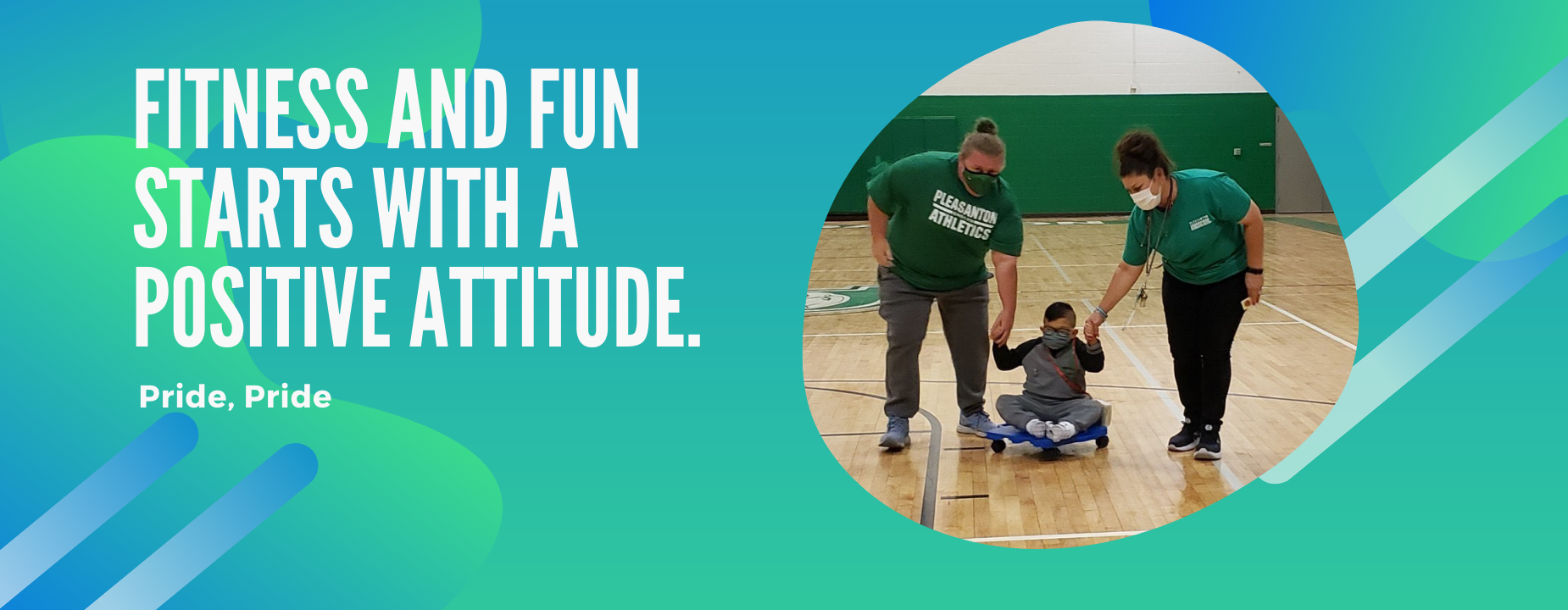PE with Coach Savage and Melinda