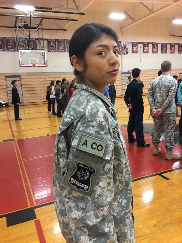 JROTC Battalion Formation