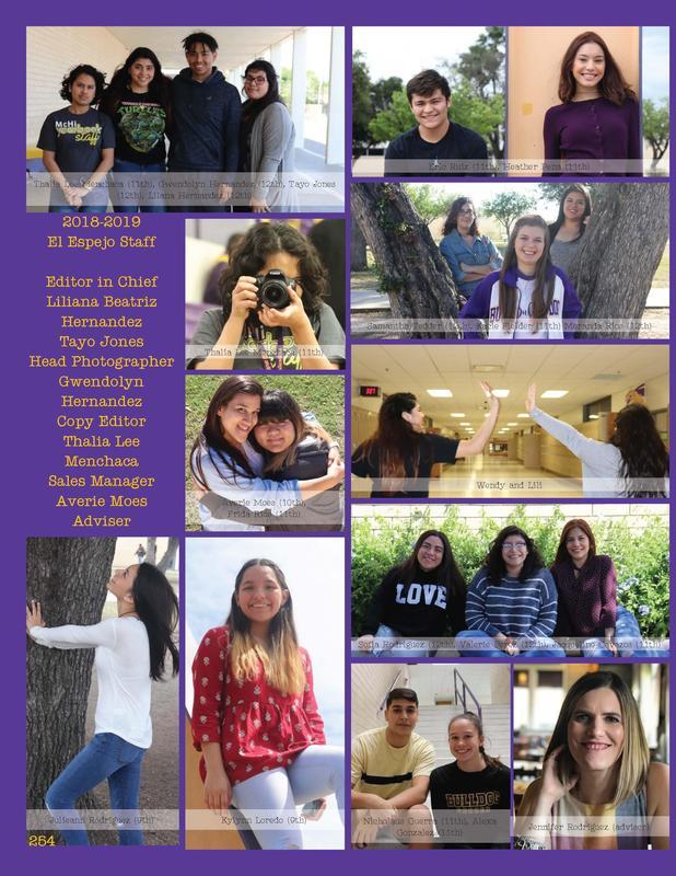 McHi Yearbook staff 1