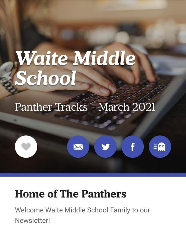 Panther Tracks - March Newsletter Featured Photo