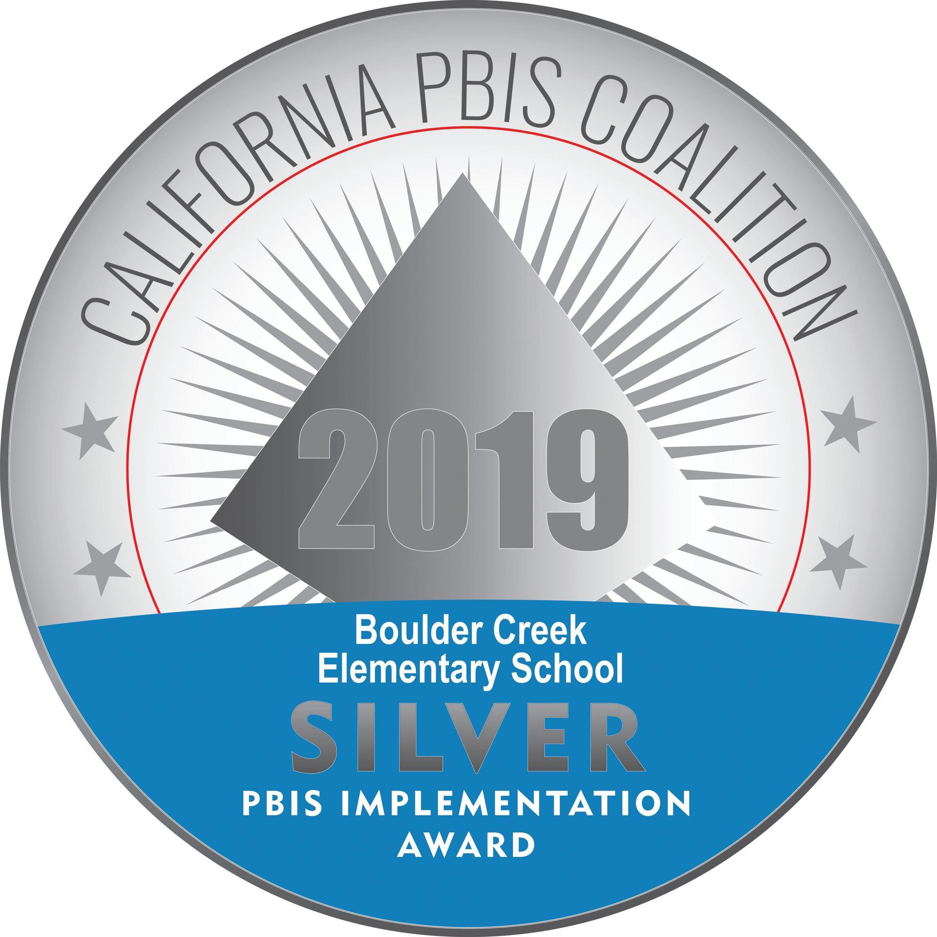 PBIS Award Silver Level