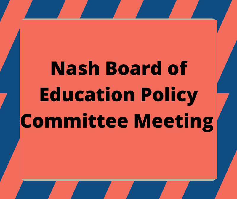 BOE Policy Committee Meeting