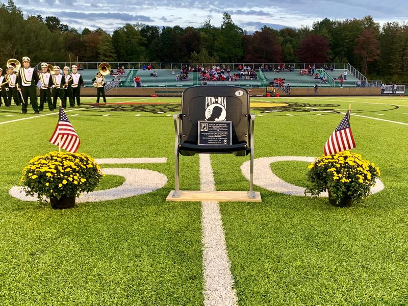 AACS DEDICATES POW/MIA CHAIR OF HONOR Featured Photo