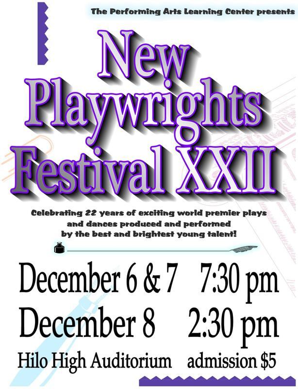 New Playwrights Festival XXII Shows Set Featured Photo