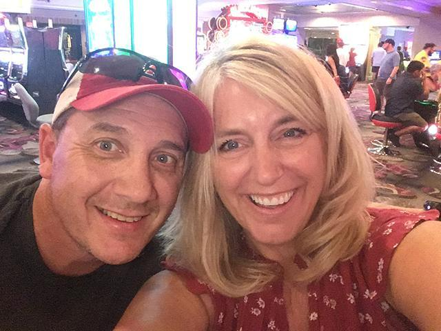 Eddie `86 and Monica `85 (Steilen) Eugenio.  Life is good as a Bullpup!