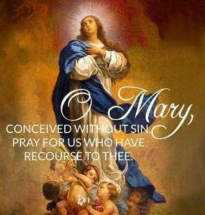 Immaculate Conception Mass Times Thumbnail Image