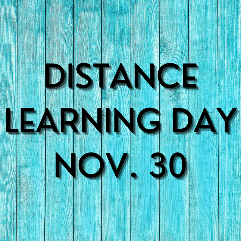 District Wide Distance Learning Day Monday, Nov. 30 Thumbnail Image