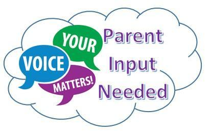 Parent Survey . . . Your Input is Needed!