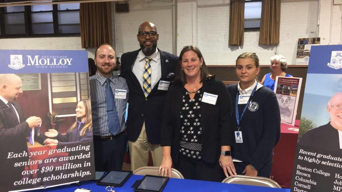 The Admissions Team at St. Stanislaus Kostka in Maspeth, Queens