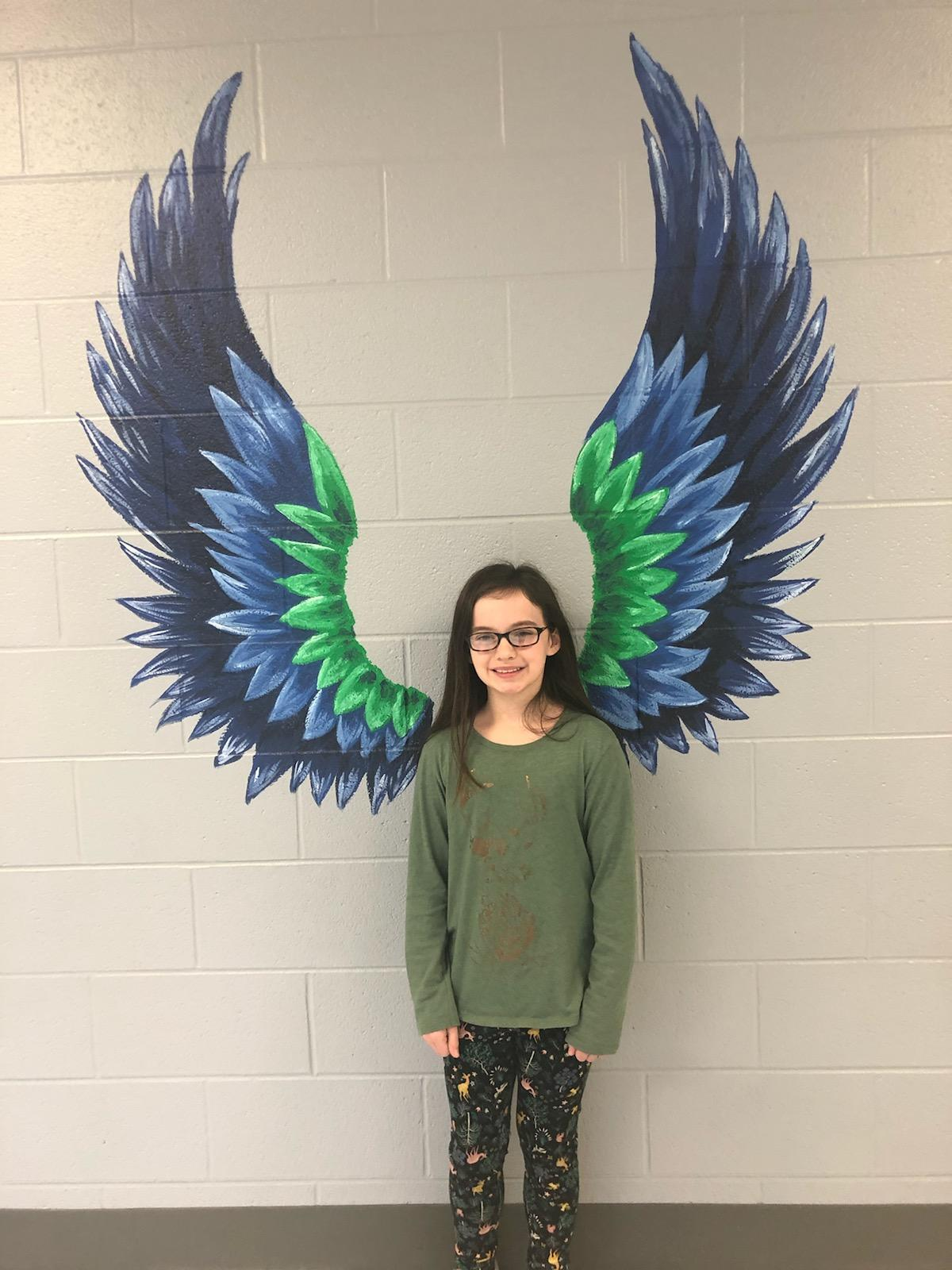 January Student of the month Sarah Kate Hovis