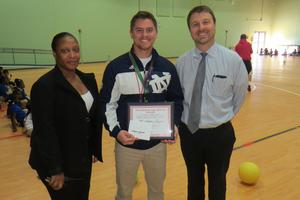 Stephen Gaylets Teacher of the Month