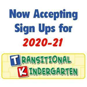 TK Pre-enrollment 2020/21