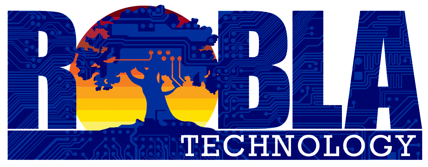 Robla Technology Department logo