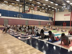 Oakland High yoga program