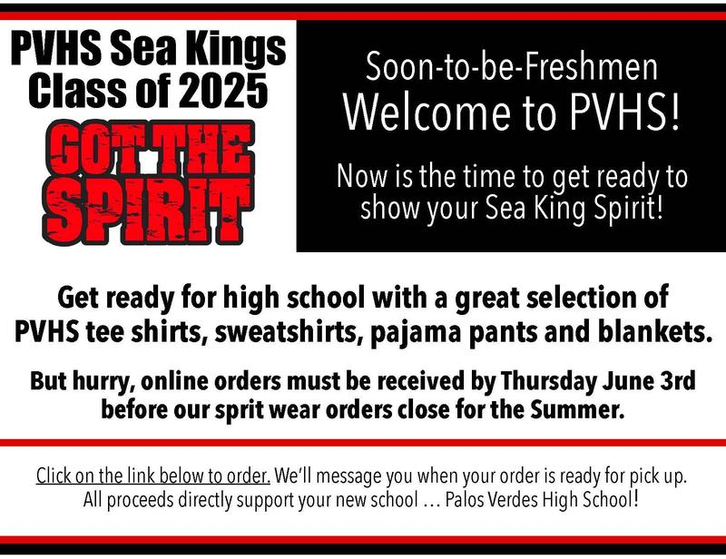 PVHS Spirit Wear- Last Call for Orders Thumbnail Image