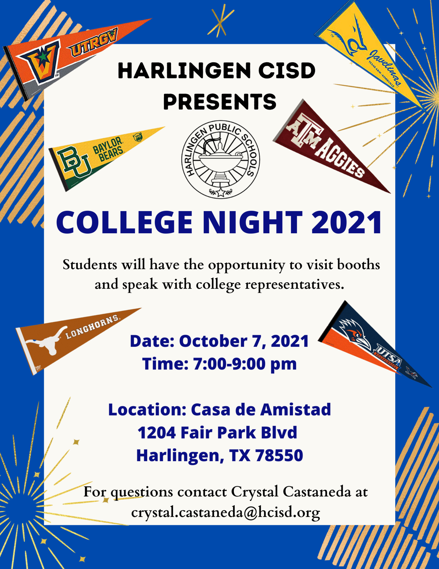 HCISD College Night 2021