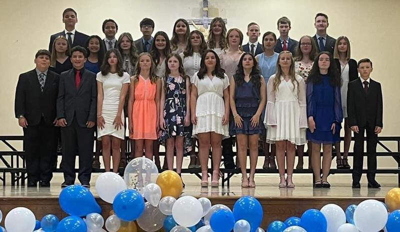 7th Grade Graduates