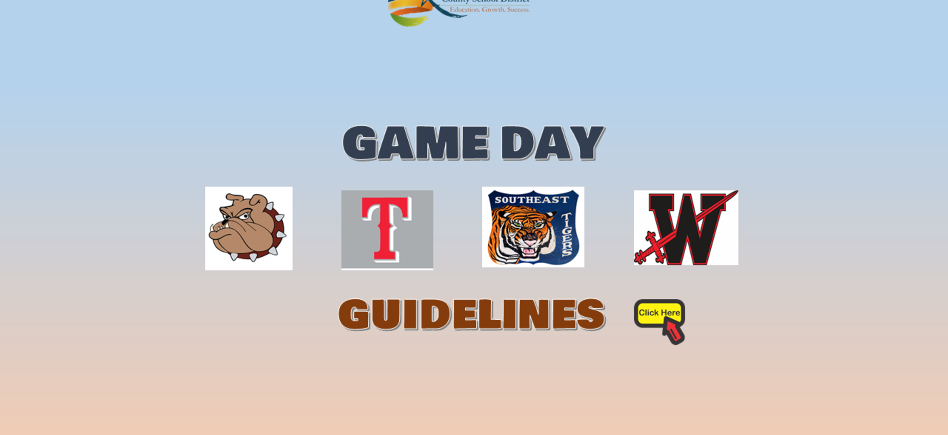 Game Day Guidelines Graphic