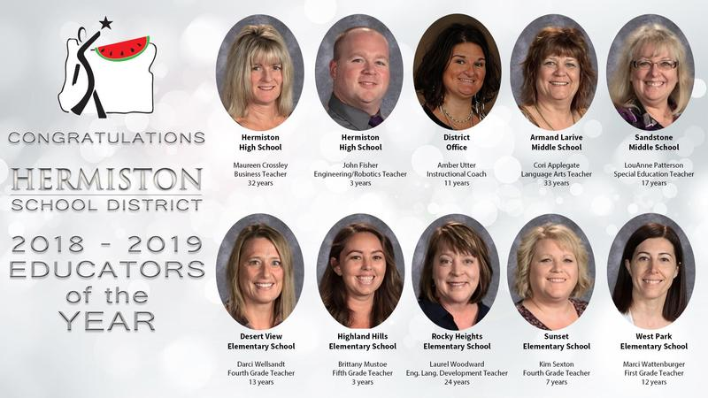 Image of Educators of the Year