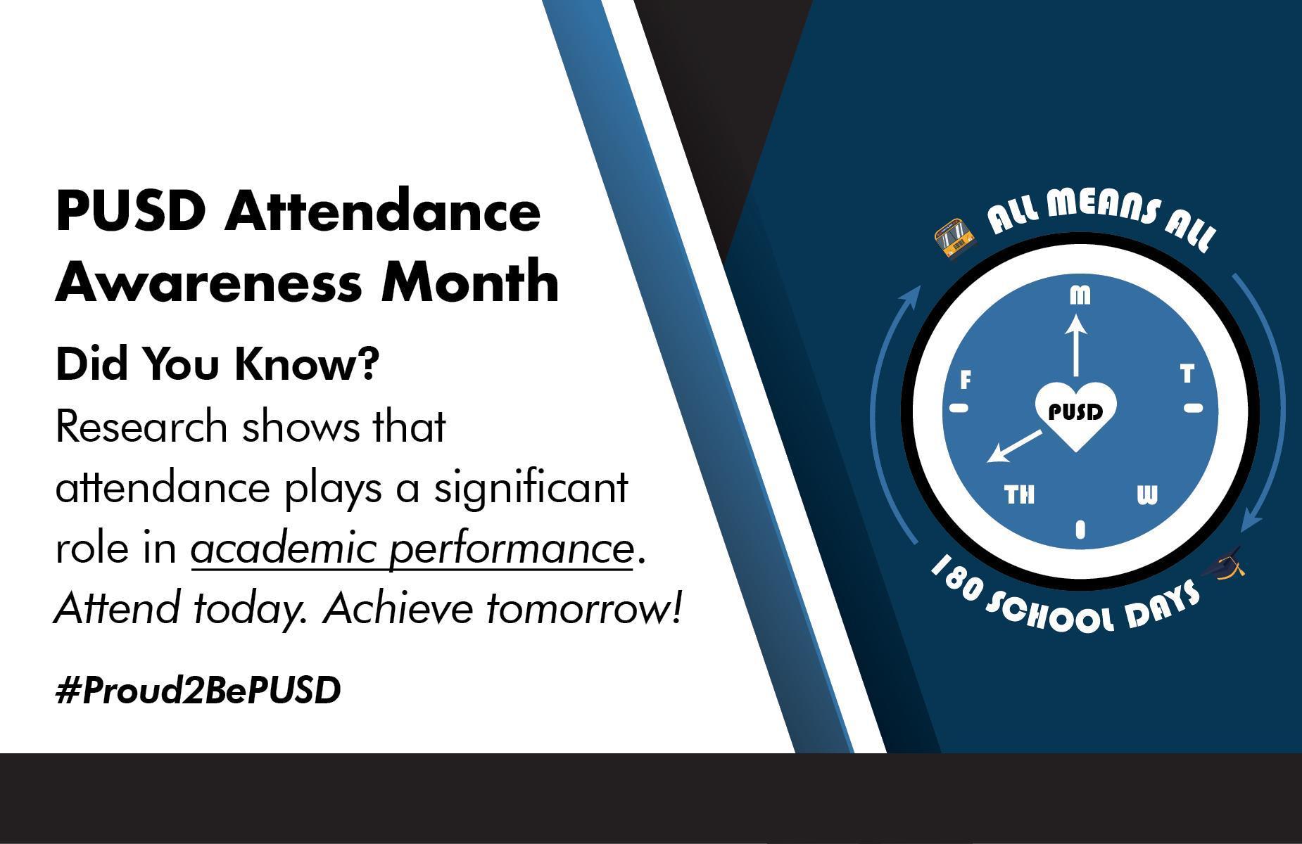 Attendance Awareness Banner