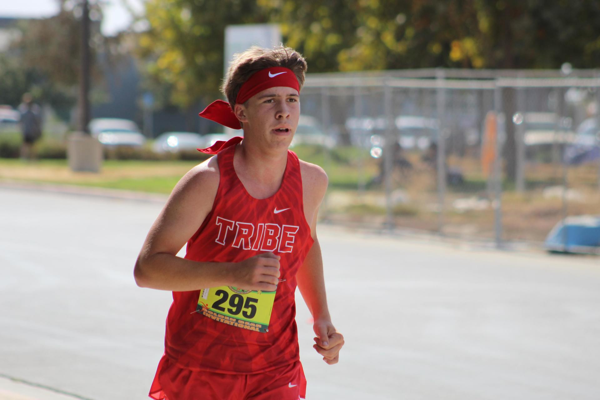Boys Cross Country Running at Sierra Pacific