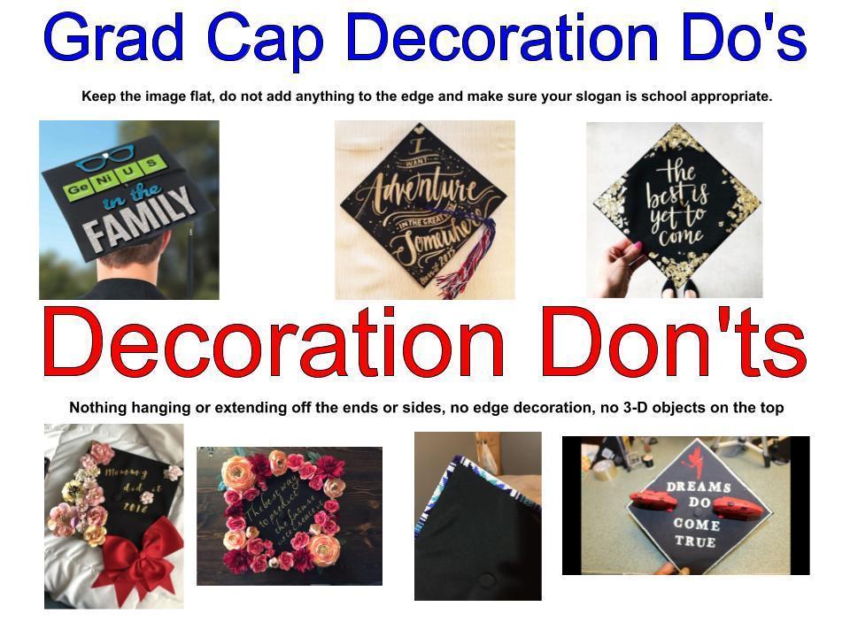 Grad Cap Do's and Don'ts