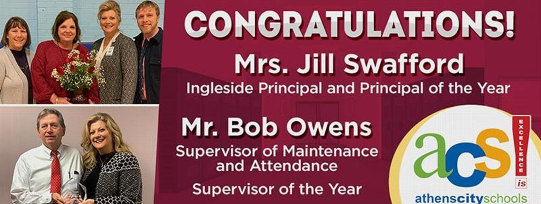 supervisor and principal of the year