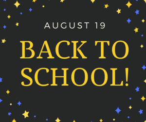 Back to school Aug. 19 graphic