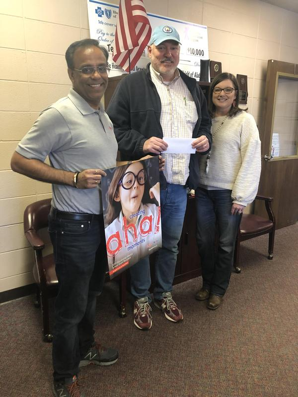 principal with Allen employees with check